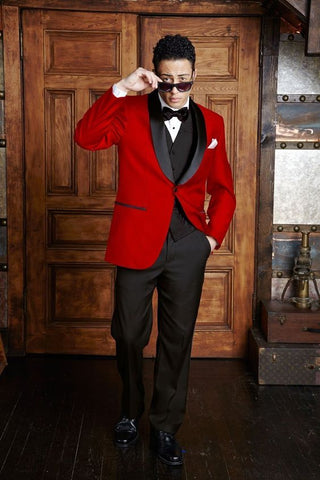 Red Suit for Men