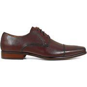 Burgundy Cap Toe Oxford Leather Shoe - Very Comfortable Shoe