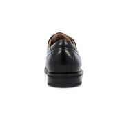 Black Midtown Cap Toe Oxford Leather Shoe - Very Comfortable Shoe with cushion
