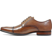 Cognac Cap Toe Oxford Leather Shoe - Very Comfortable Shoe