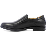 Black Moc Toe Midtown Slip On Shoe