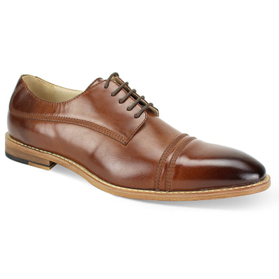 Antonio Cerreli Cognac II Lace-Up Dress Shoes