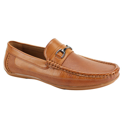 Antonio Cerreli Cognac II Slip-On Dress Shoes