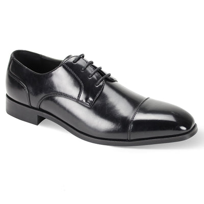 Antonio Cerreli Black III Lace-Up Dress Shoes