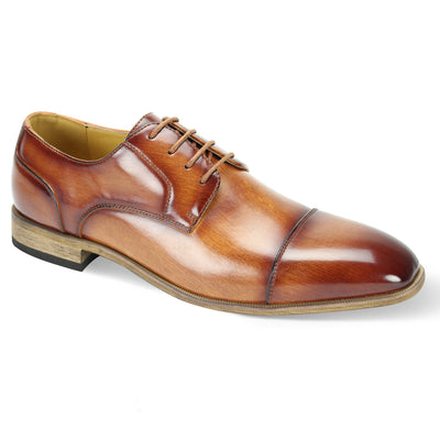 Antonio Cerreli Tan III Lace-Up Dress Shoes