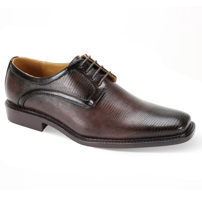 Antonio Cerreli Brown Wide Lace-Up Dress Shoes