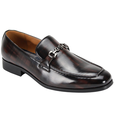 Antonio Cerreli Chocolate Brown Monk-Strap Dress Shoes