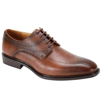 Antonio Cerreli Tan Lace-Up Dress Shoes