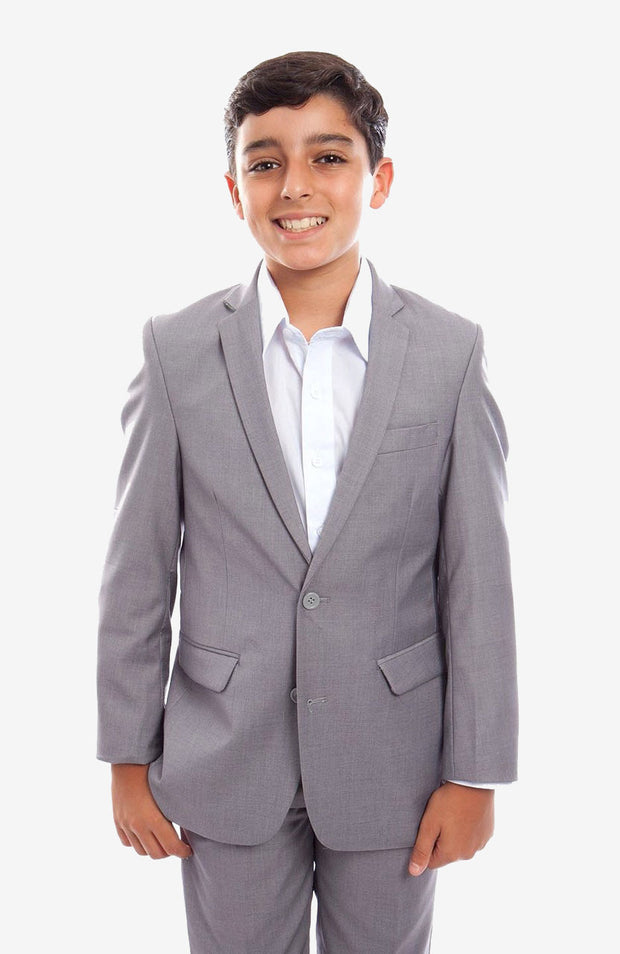 Boy's Grey Suit with Jacket and Pants