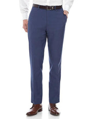 Blue Men's Slim Fit Stretch Suit Separates Pants - Zoomed Out