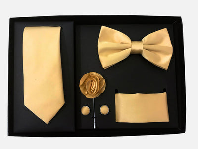 Men's Five Piece Solid Gold Gift Box