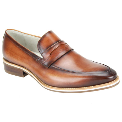Giovanni Hue Tan Slip-On Men's Dress Shoes