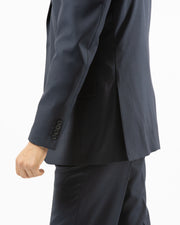 Eleganza Navy Modern Fit Suit - Side