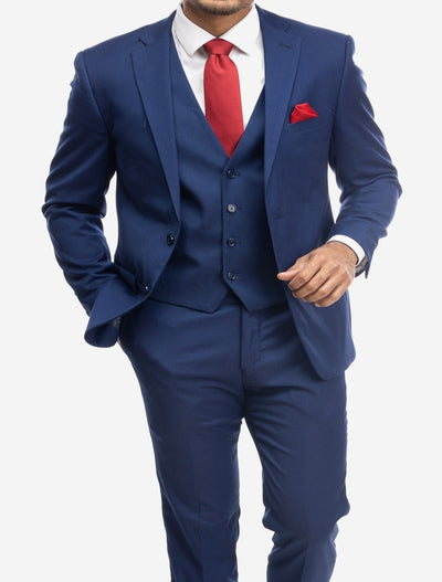 Blue Men's Slim-Fit Suit Separates Jacket by Karako's Suits (Big & Tall)