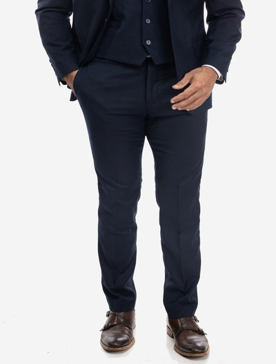 Navy Men's Slim-Fit Suit Separates Pants