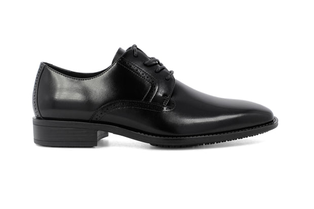 Stacy Adams Onyx Black Ardell Plain Toe Oxford Shoes