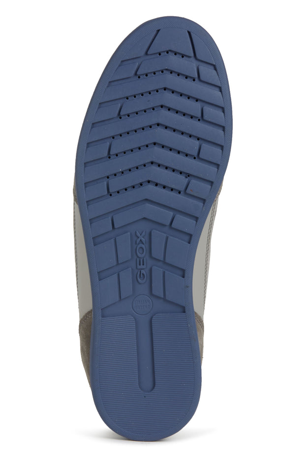 Geox Renan Navy Men's Casual Shoes - Bottom of Shoes