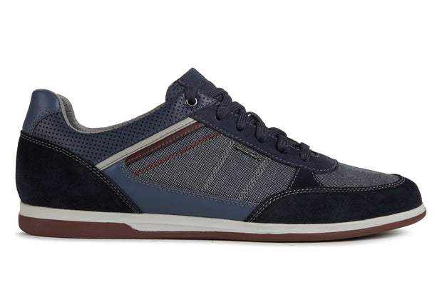 Geox Renan Navy Men's Casual Shoes - Right Side of Shoes
