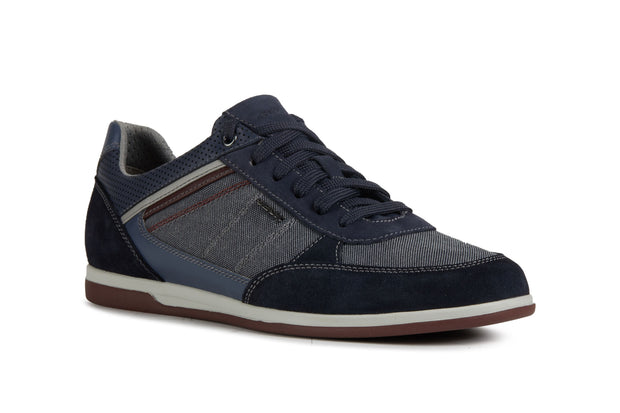 Geox Renan Navy Men's Casual Shoes - Right Side Front