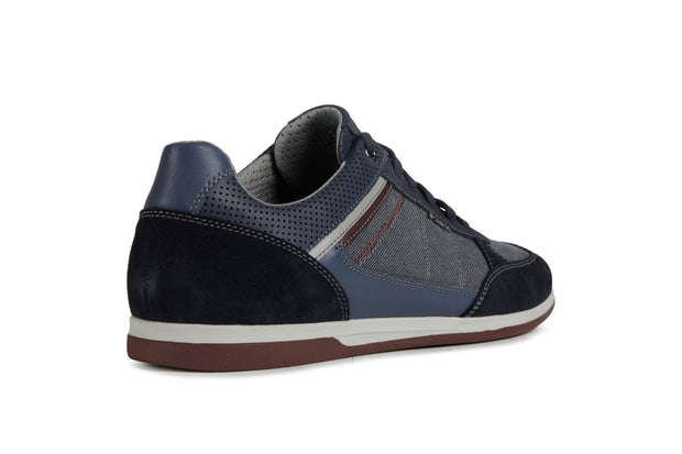 Geox Renan Navy Men's Casual Shoes - Right Side Back