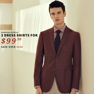 Dress Shirt Bundle - 3 for $99