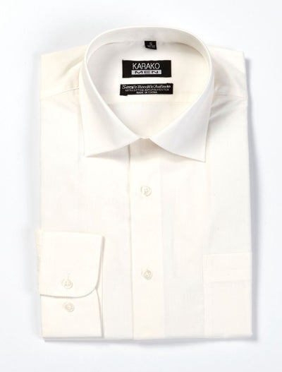 Karako Men Bone Modern Fit Dress Shirt