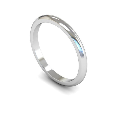 Plain D-Shape Band (Medium)