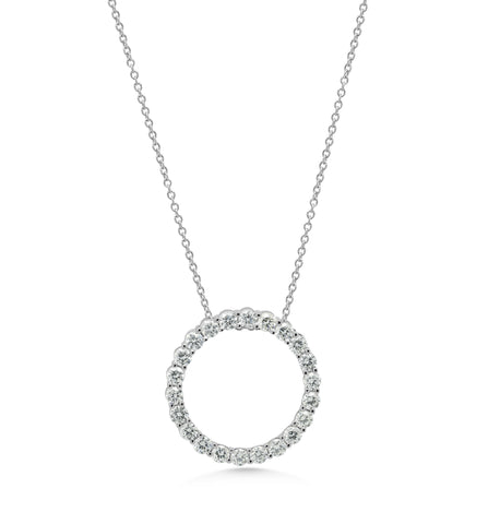 Diamond Micro 'Circle of life' Pendant