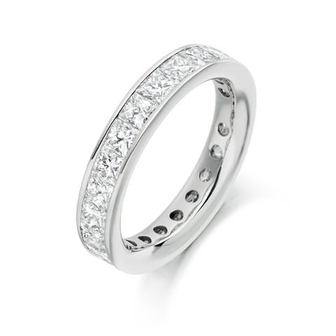 Princess Channel Set 4.00ct Full