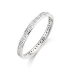 Princess Channel Set 0.75ct Full