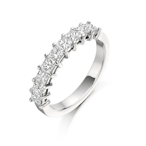 Princess 9 Stone Ring 1.00ct