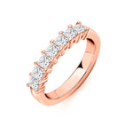 Princess 7 Stone Ring 1.00ct