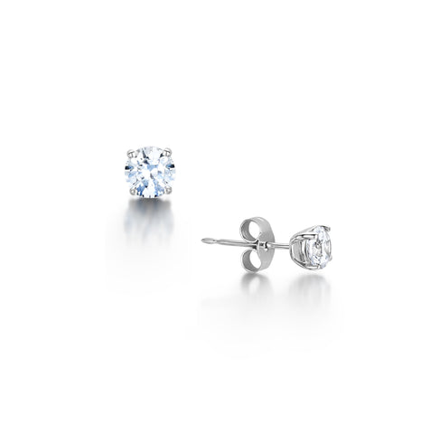 Diamond Timeless Stud Earrings