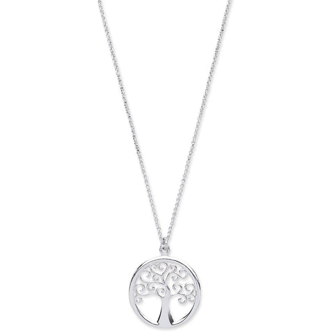 "Tree of Life 16"" Necklace with 2"" Extrention - Jade Wedding Rings"