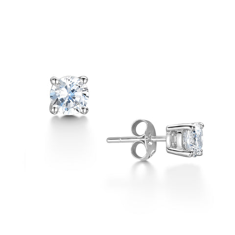 Diamond Classic Stud Earrings