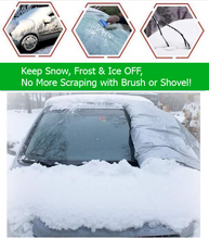 Load image into Gallery viewer, Premium Windshield Snow Cover