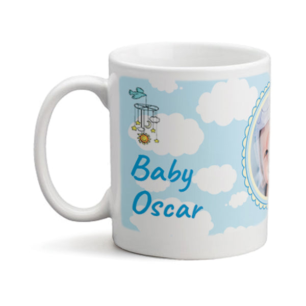 Baby Boy Basket - Personalized Mug
