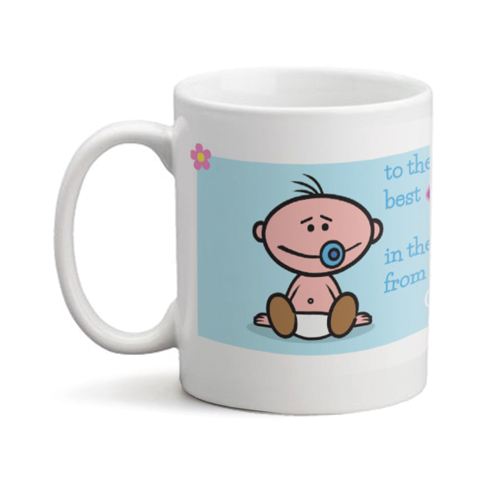 Best Mum Baby Boy - Personalized Mug