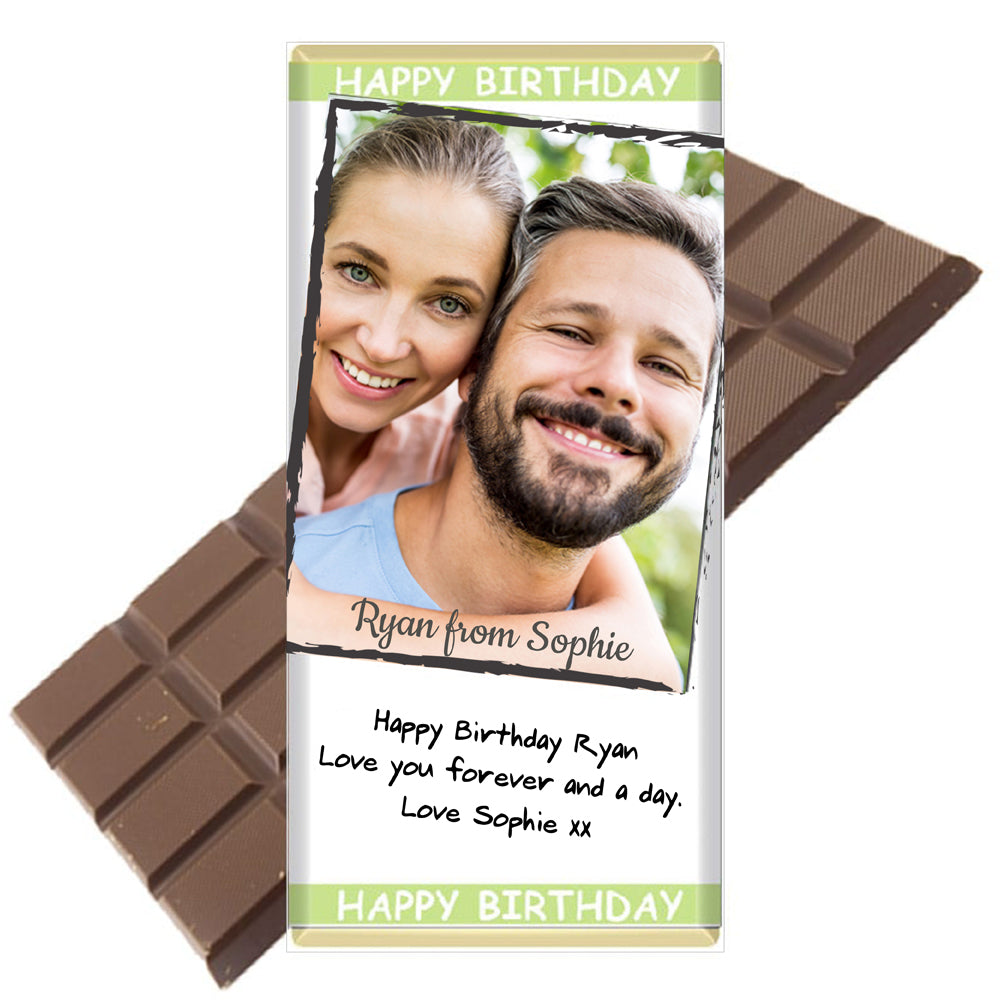 Photo - Personalised Chocolate Bar | Printzware