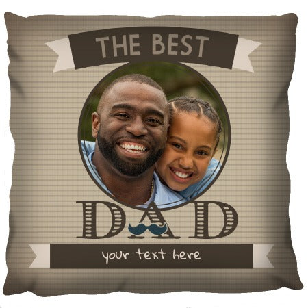 Father's Day - Personalized Cushion