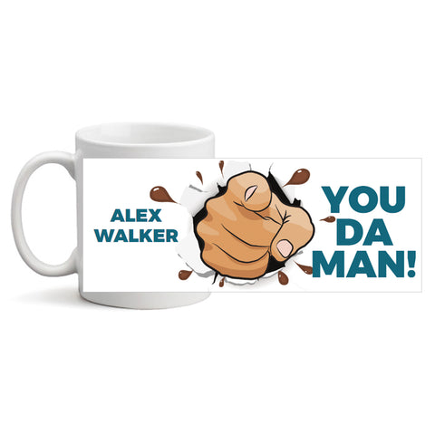 Da Man - Personalized Mug
