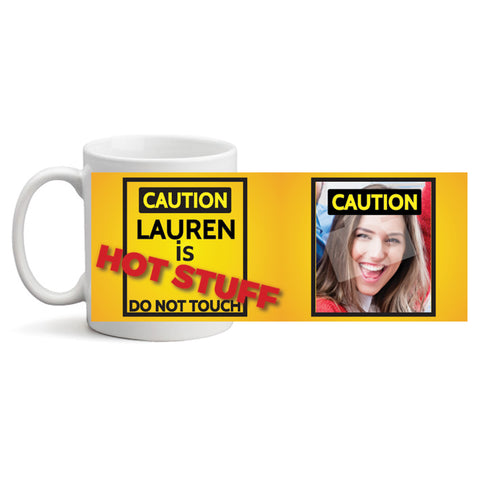 Hot Stuff - Personalized Mug