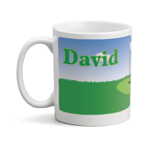 Loves Golf - Personalized Mug