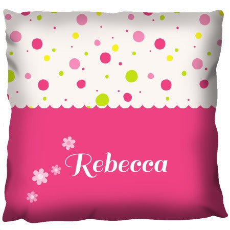 Cute Little Girl Cushion - Personalized Cushion