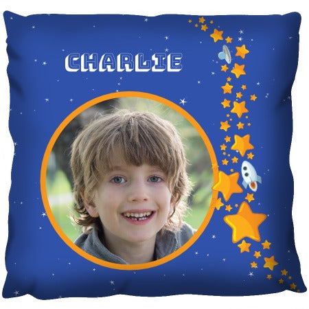 Star-field Photo - Personalized Cushion