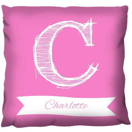 Big Letter - Personalized Cushion