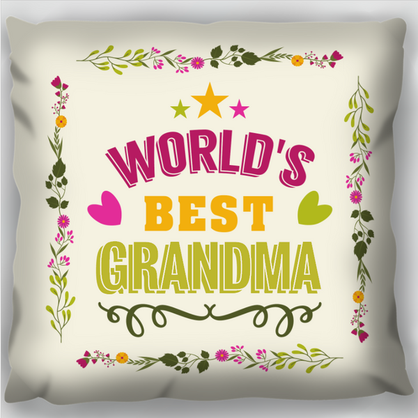 Worlds Best  - Personalised Cushion