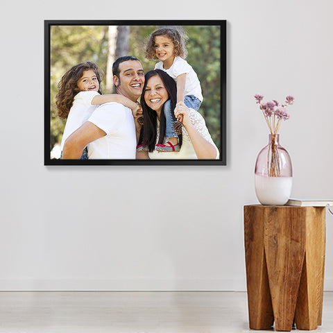 Framed Canvas - Photo Upload