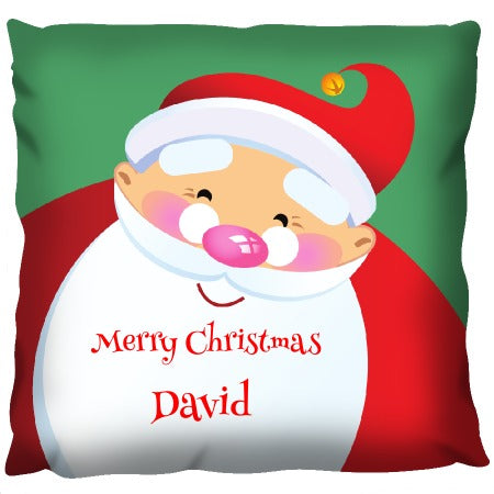 Big Santa Head - Personalized Cushion