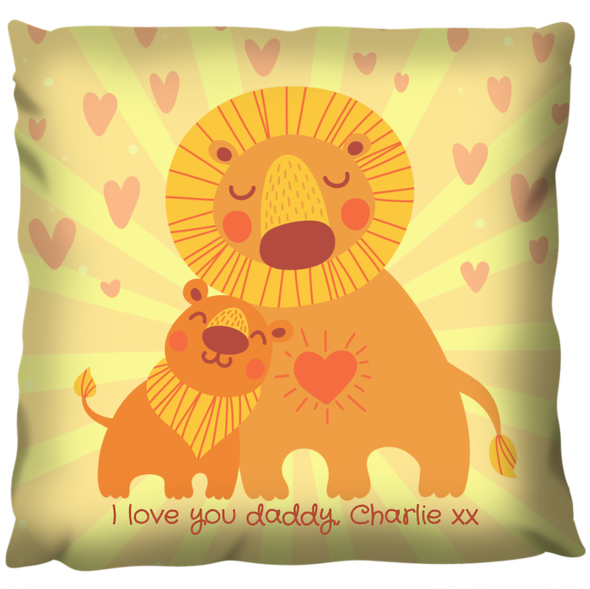 The Lion King - Personalized Cushion